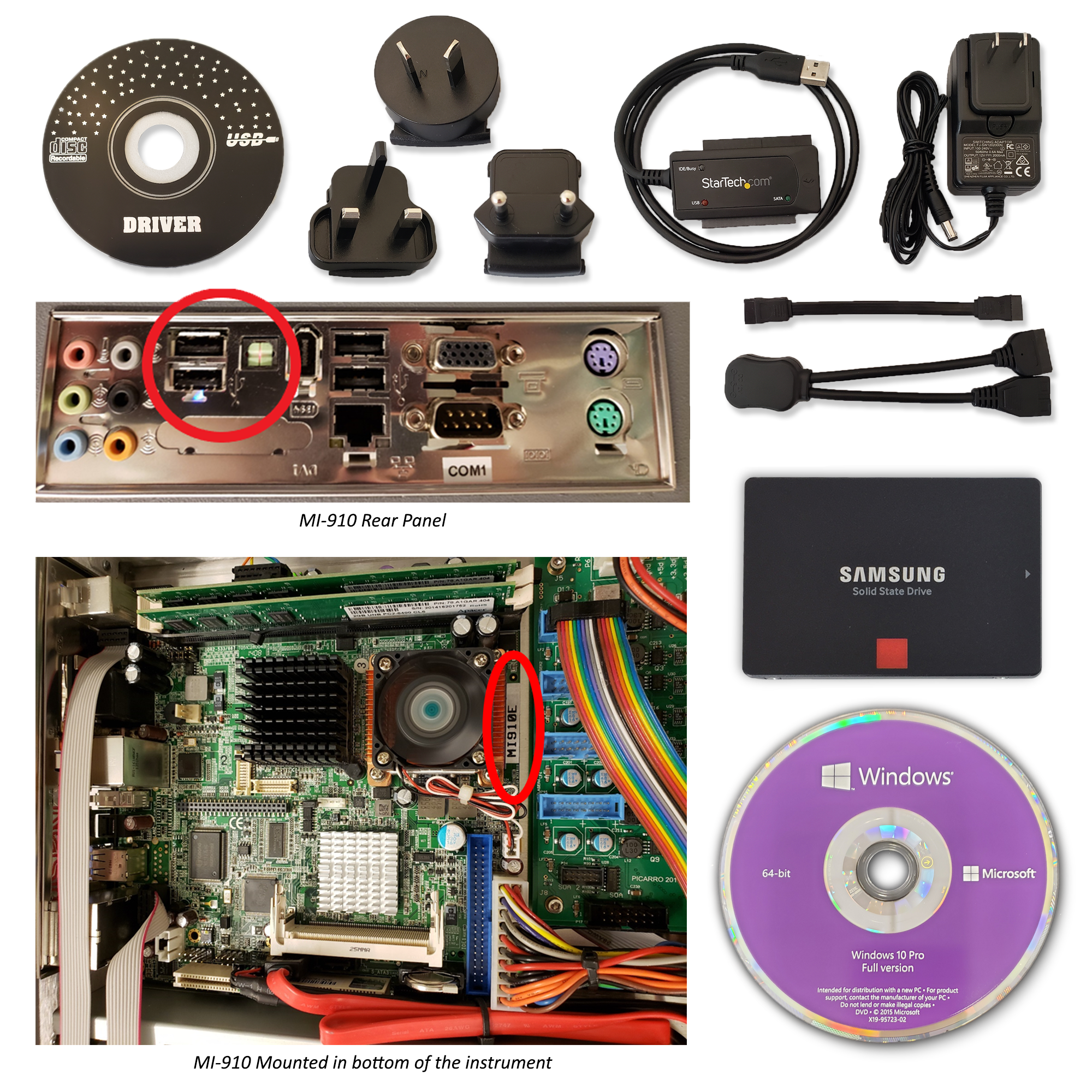S3058: Windows 10 Upgrade Kit for MI910 Motherboard