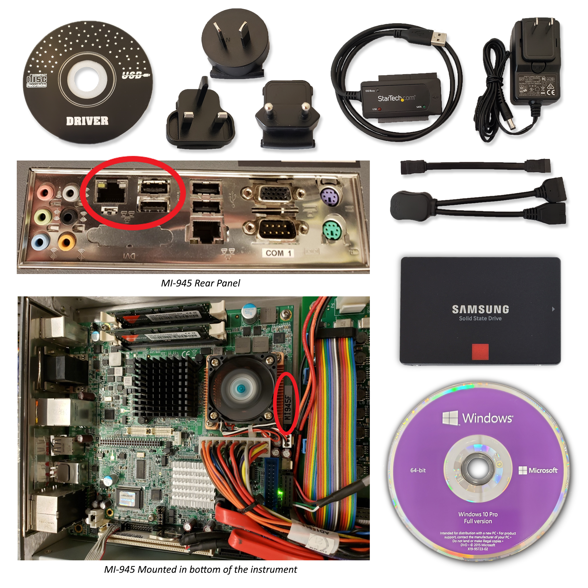 S3059: Windows 10 Upgrade Kit for MI945 Motherboard